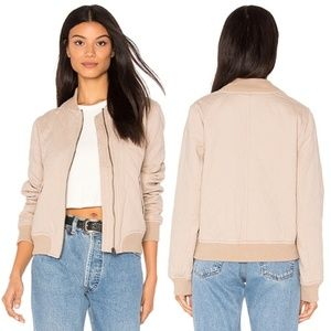 Sincerely Jules Quilted Girl Bomber Jacket